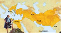 1. Alexandre le Grand; 2. L'Empire grec