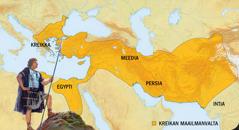 1. Aleksanteri Suuri. 2. Kreikan maailmanvalta