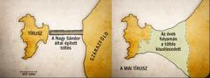 Két térkép Tíruszról