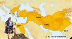 1. Aleksander den store; 2. Det greske verdensrike