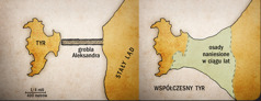 Dwie mapy Tyru