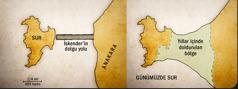 İki Sur haritası