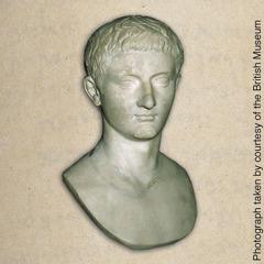 A bust of Tiberius Caesar