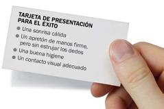 Tarjeta de presentación