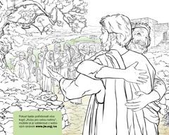 Muž děkuje Ježíšovi, že ho uzdravil z malomocenství