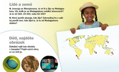 Časopis Probuďte se!, září 2012: Lidé a země, Madagaskar a Děti, najděte obrázek