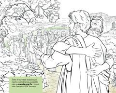 Čovjek zahvaljuje Isusu što ga je izliječio od gube