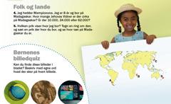 Bladet Vågn op! for september 2012: Folk og lande, Madagascar og Børnenes billedquiz