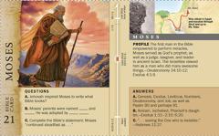 Bible Card: Moses