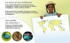 """Revue Réveillez-vous, septembre 2012: La terre et ses habitants (Madagascar) et images de la partie """"Aux petits de chercher!"""""""