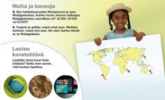 Herätkää! Syyskuu 2012: Maita ja kansoja, Madagaskar, ja Lasten kuvatehtävä