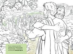 Ένας άντρας ευχαριστεί τον Ιησού που τον θεράπευσε από τη λέπρα