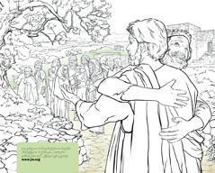 კეთროვანი კაცი მადლობას უხდის იესოს განკურნებისთვის
