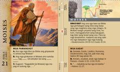 Bible Card: Moises
