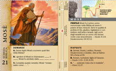 Scheda biblica: Mosè