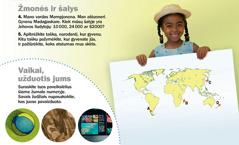 Atsibuskite! 2012 m. rugsėjis. Žmonės ir šalys: Madagaskaras. Užduotis vaikams