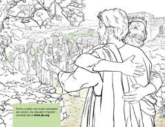 Bărbat mulţumindu-i lui Isus că l-a vindecat de lepră