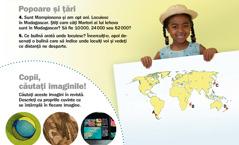 Revista Treziţi-vă!, septembrie 2012: Popoare şi ţări, Madagascar şi Copii, căutaţi imaginile!