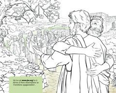 En mann takker Jesus for at han har helbredet ham for spedalskhet