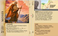 Bibelkort: Moses