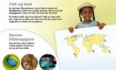 Våkn opp!, september 2012: Folk og land, Madagaskar og barnas bildeoppgave