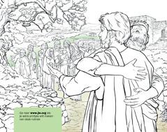 Een man bedankt Jezus omdat hij genezen is