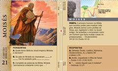 Cartão Bíblico: Moisés