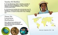 Magazini Wa Xalamuka! September 2012: Vanhu Ni Matiko, Madagascar ni Vana Va Lava-lava Swifaniso