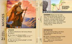 Bibelkarte: Moses