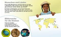 Die Zeitschrift Erwachet! vom September 2012: Menschen und Länder, Madagaskar und Bildersuche für die Kleinen