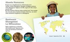 Iphephancwadi uVukani!, Septemba 2012: Abantu Namazwe, eMadagascar, nothi Bantwana Khagelani Le Mifanekiso