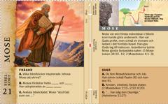 Bibelkort: Mose