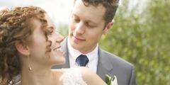 Ett nygift par