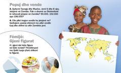 1. Fëmijë nga Zambia; 2. Fëmijë: Gjeni figurat
