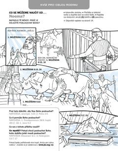 Biblické omalovánky: Noe
