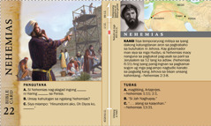 Bible card—Nehemias