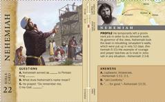 Nehemiah Bible card