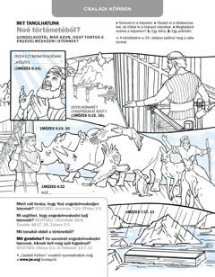 Képes feladat: Noé