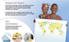 1. Anak-anak Zambia; 2. Ayo cari gambar