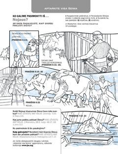 Užduotis apie Nojų