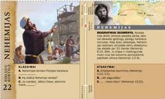 Biblijos kortelė: Nehemijas
