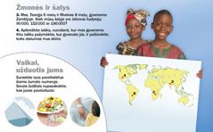 1. Vaikai iš Zambijos; 2. Vaikai, užduotis jums