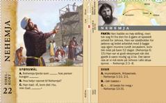 Bibelkort: Nehemja