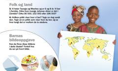 1. Barn fra Zambia; 2. Barnas bildeoppgave