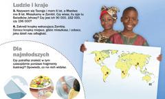 1. Dzieci zZambii; 2.Dla najmłodszych — fragmenty ilustracji do znalezienia
