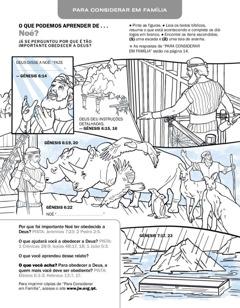 Atividade com figura de Noé