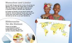 1. Kinder aus Sambia; 2. Bildersuche für die Kleinen