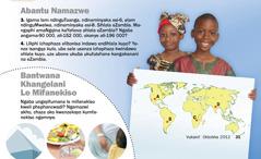 1. Abantwana baseZambia; 2. Bantwana khangelani lemifanekiso
