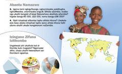 1. Abantwana baseZambia; 2. Izingane zifuna izithombe