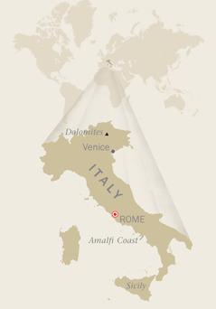 Mapa sa Italy